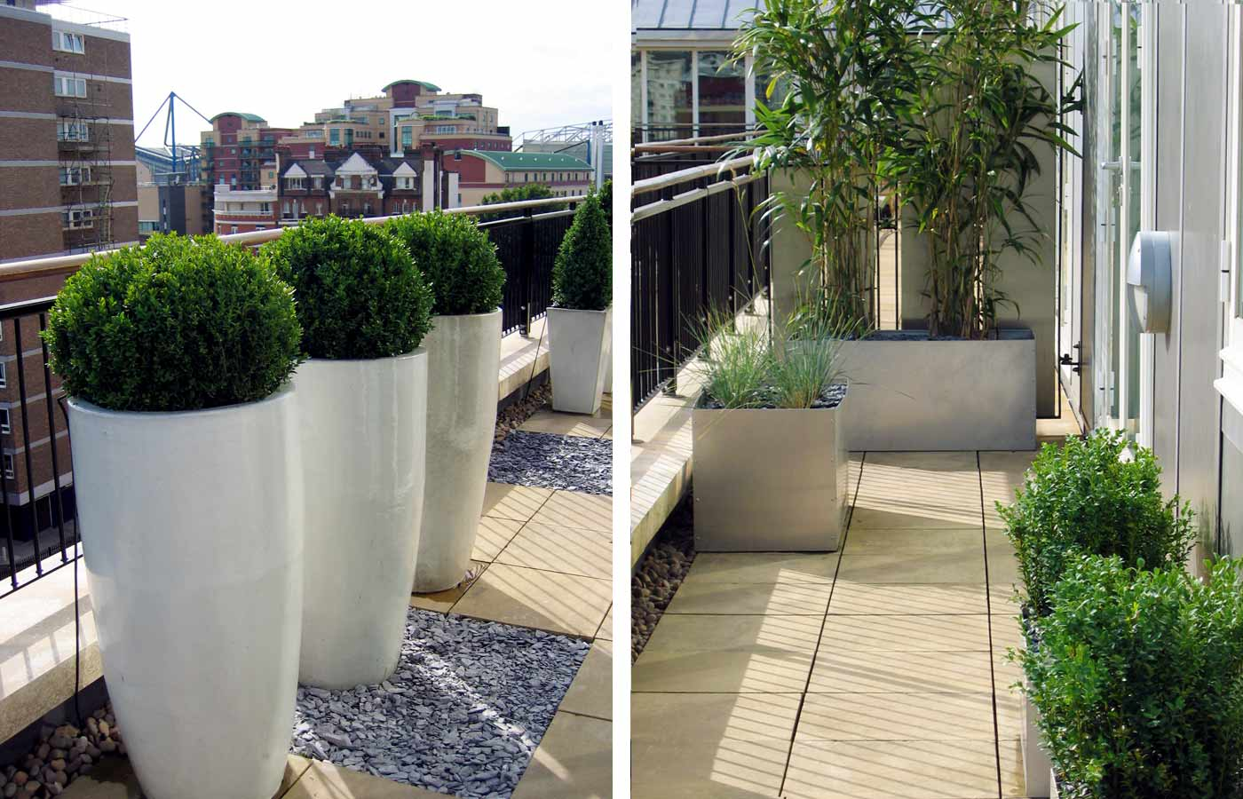 Roof terrace design fulham london for In the terrace