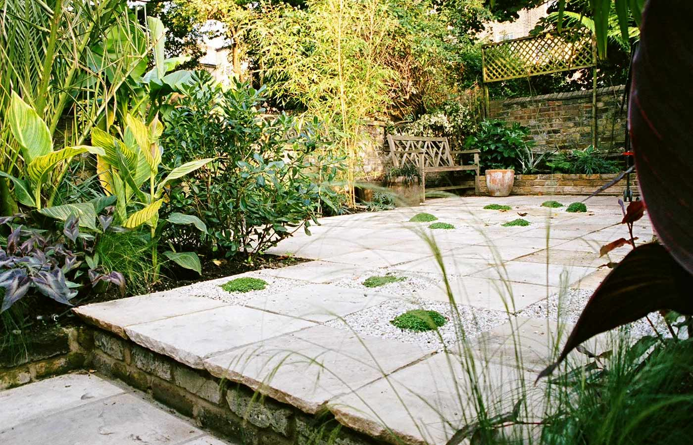 Courtyard Garden Design | North London Garden Design