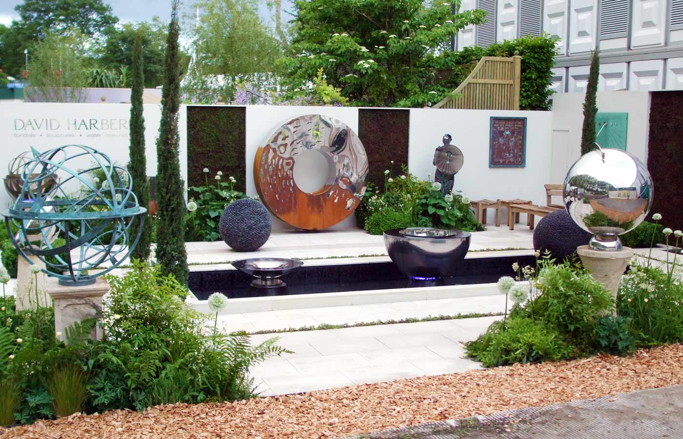 Award winning exhibition stand design for chelsea flower for Chelsea flower show garden designs