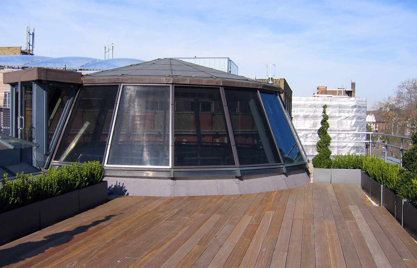 Company roof terrace