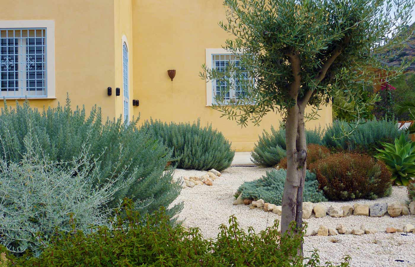 Mediterranean Garden Design for Rural Garden in Sicily