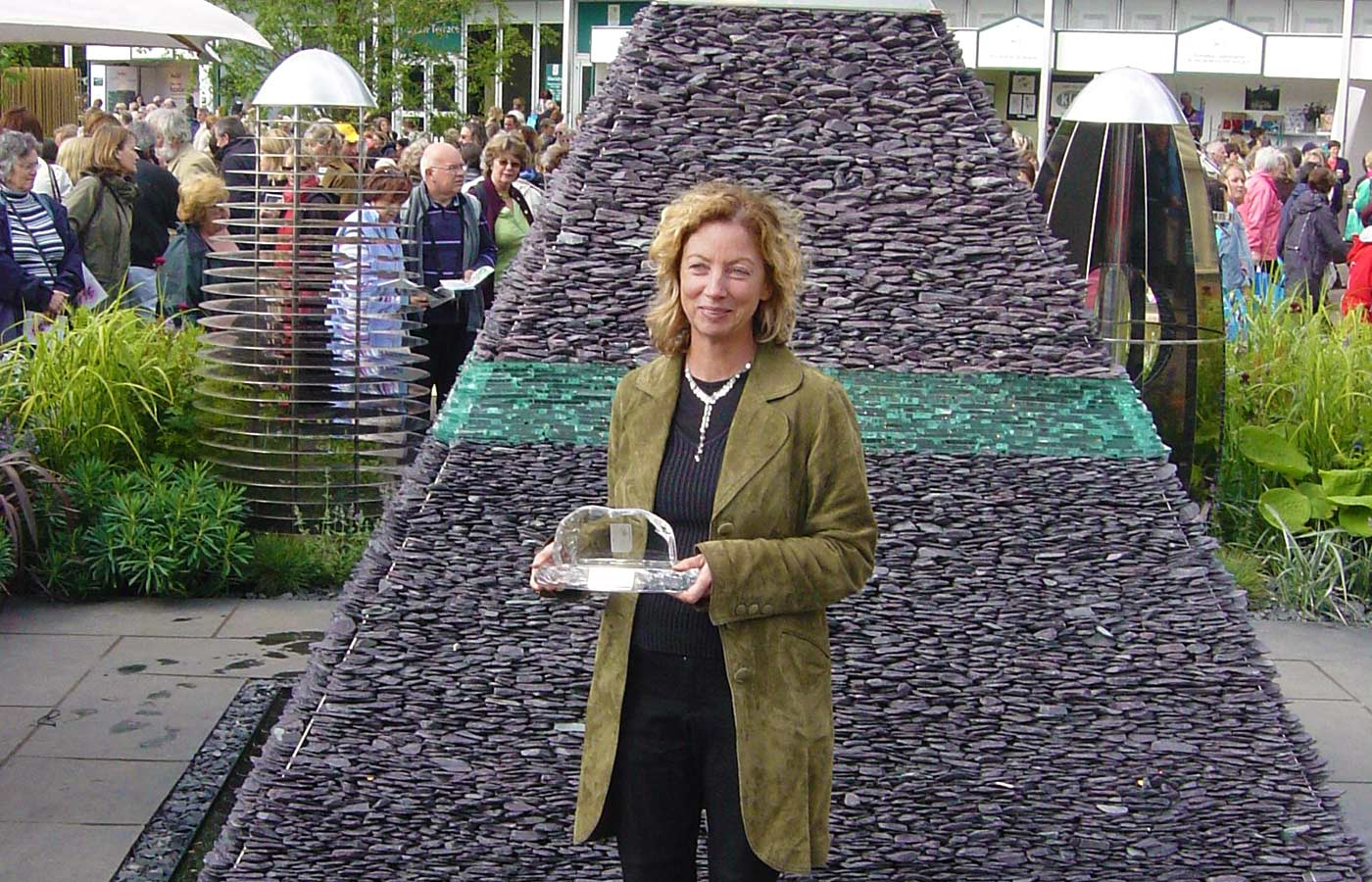 Award for flower show design