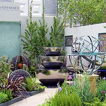 Trade stand design for Chelsea Flower Show